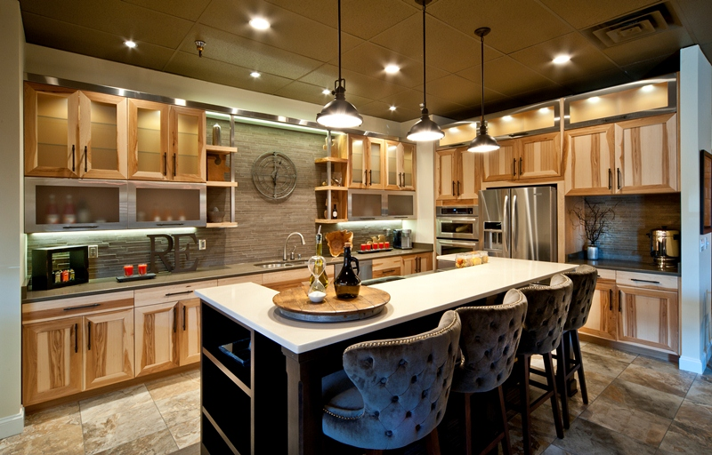Demo kitchen at Freyenhagen Construction, Billings kitchen remodel contractor